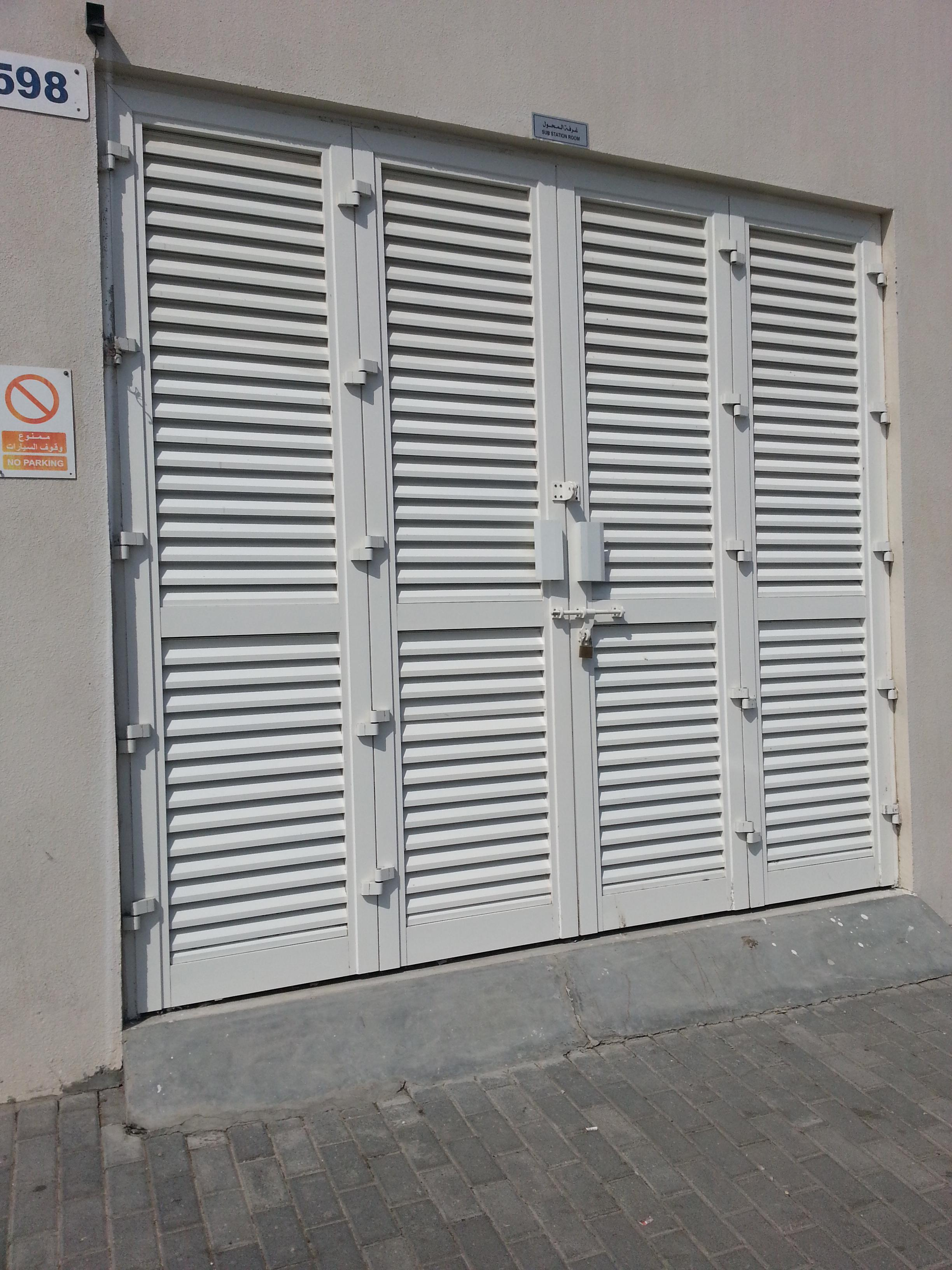 ALUMINIUM LOUVERED FOLDING DOOR & Hamilton Group